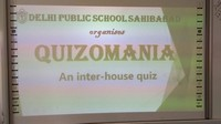 Quizomania 2019 an Inter House Quiz competition